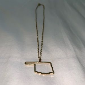 Jewelry - Petite OKLAHOMA necklace